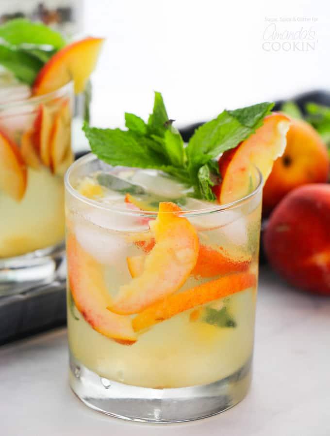peach mojito recipe