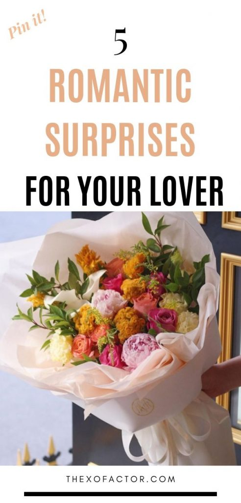 romantic surprises