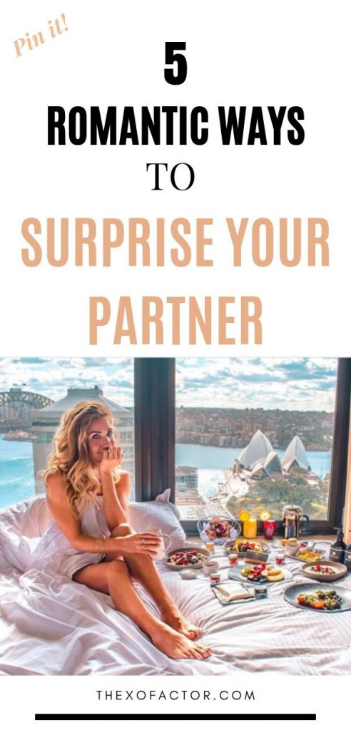 romantic ways to surprise