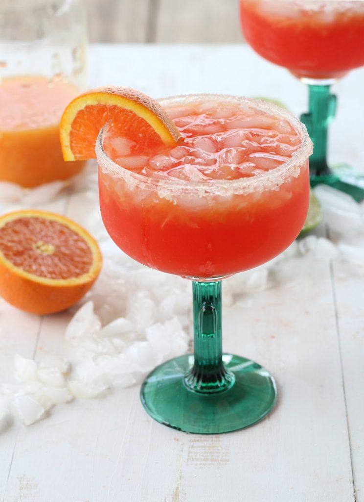 citrus sugar sunset margarita