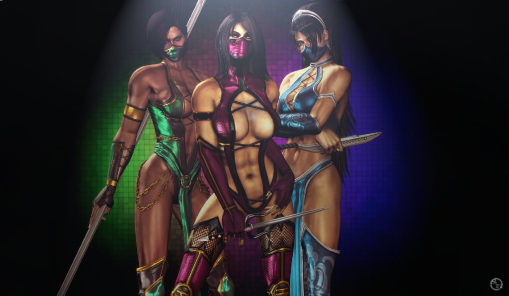 Sexiest Mortal Kombat Girls