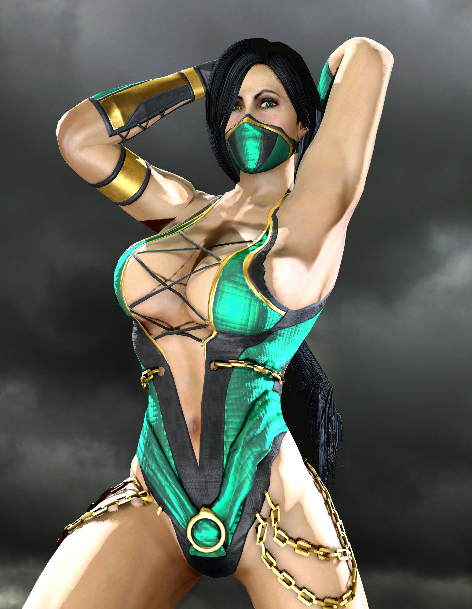 Jade sexy Mortal Kombat