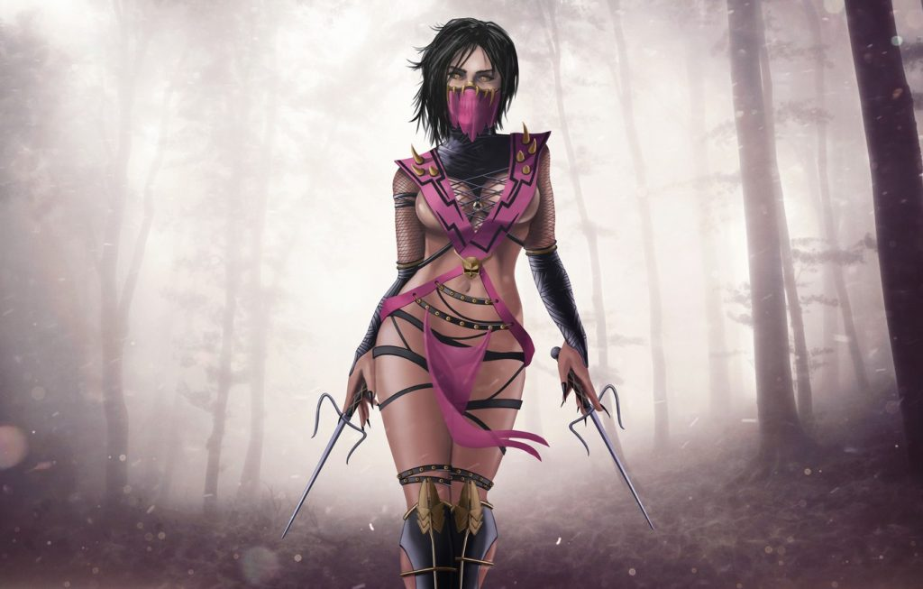 Hot Mileena Mortal Kombat