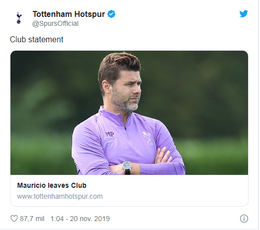 Poch sacked