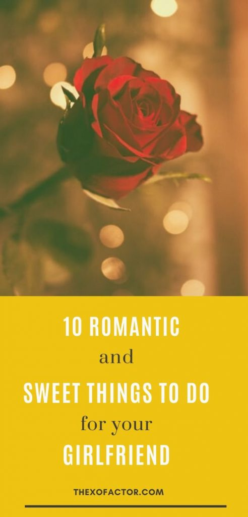 sweet and romantic things to do for girlfriend