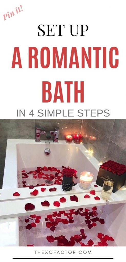 how to set up a relaxing bath