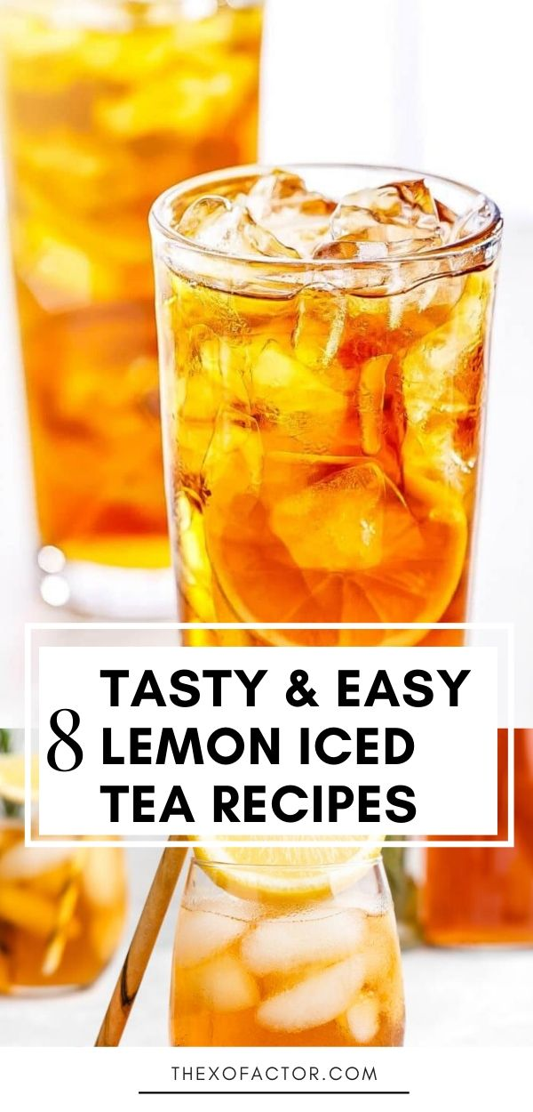 lemon iced tea recipes