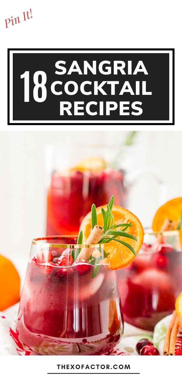 sangria cocktail recipes