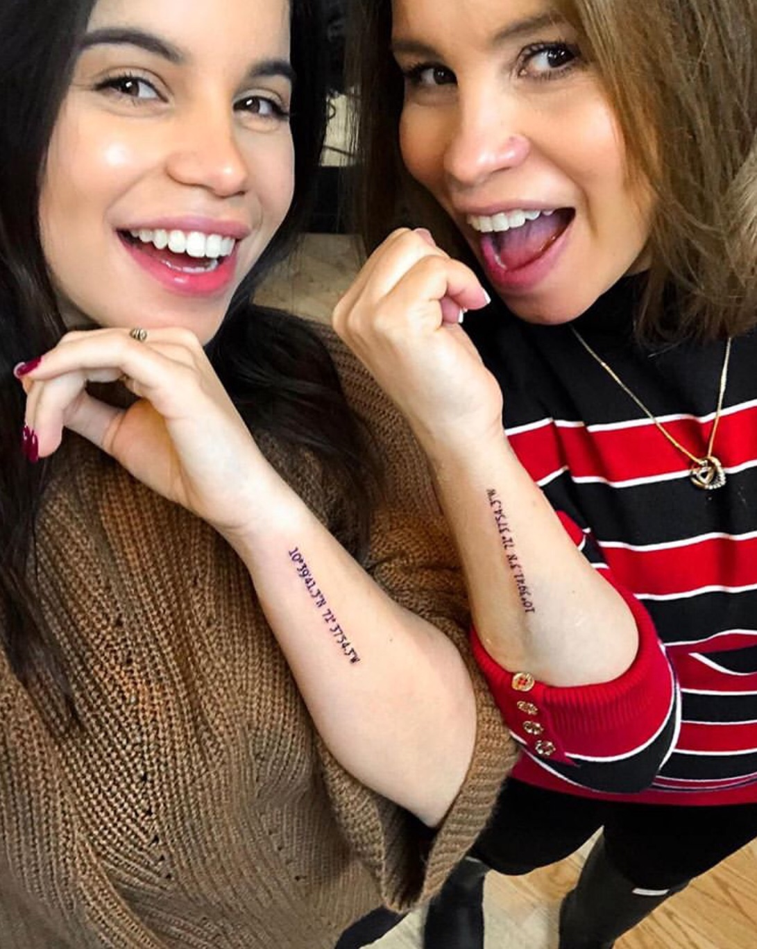 mother daughter tattoo
