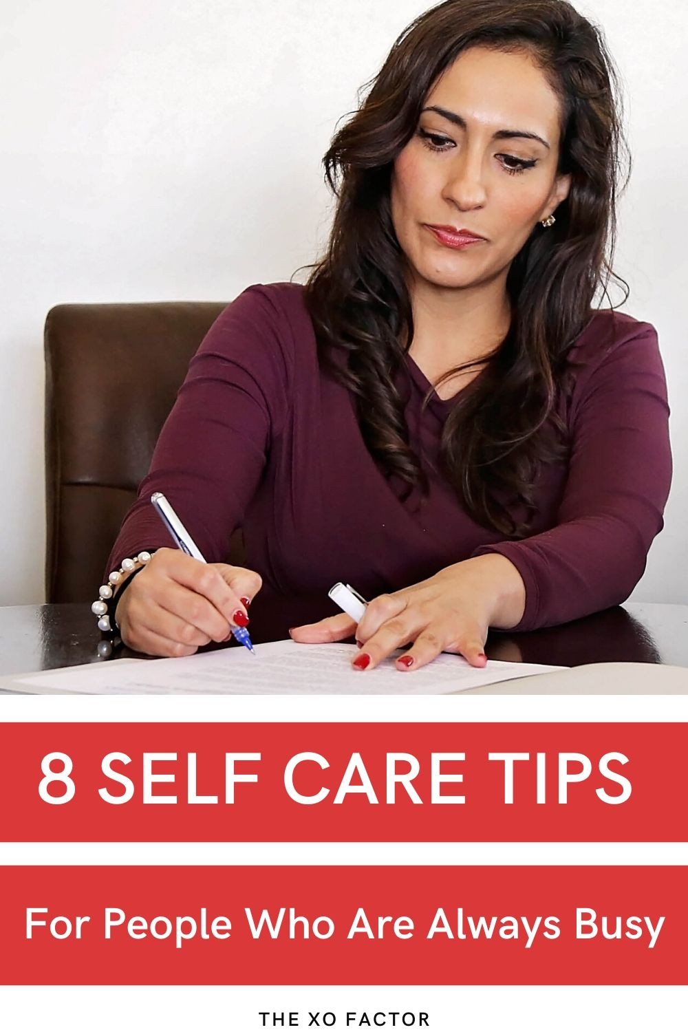 8 self care tips for busy people