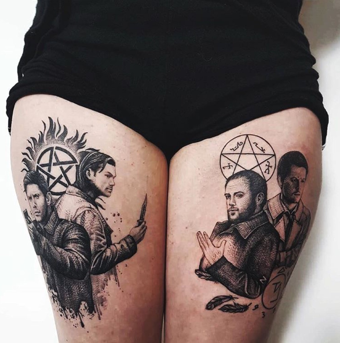 supernatural tattoo ideas
