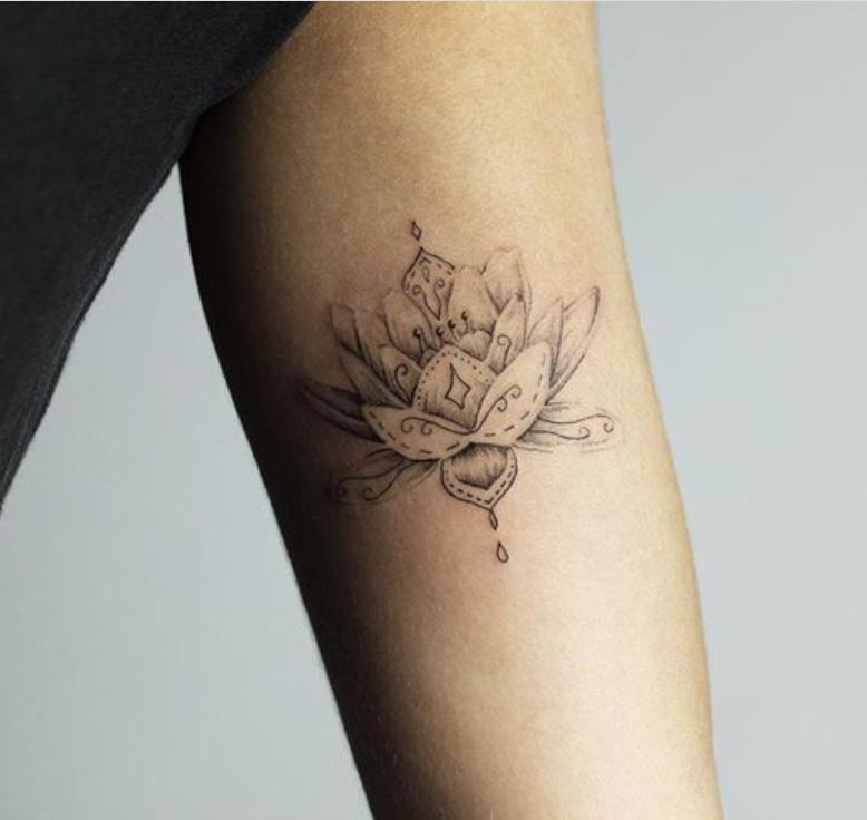 lotus flower tattoo