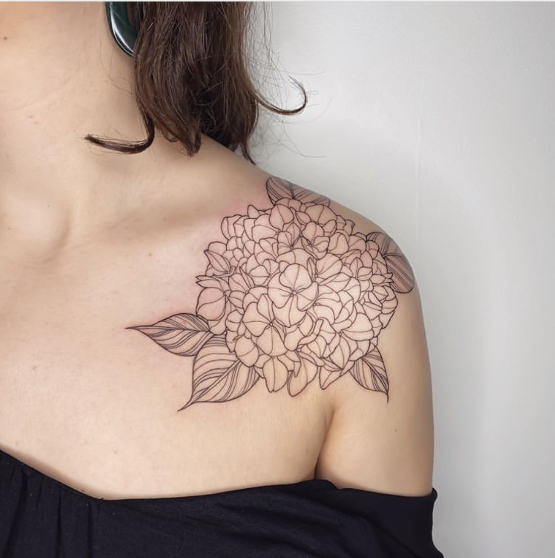 clavicle tattoo