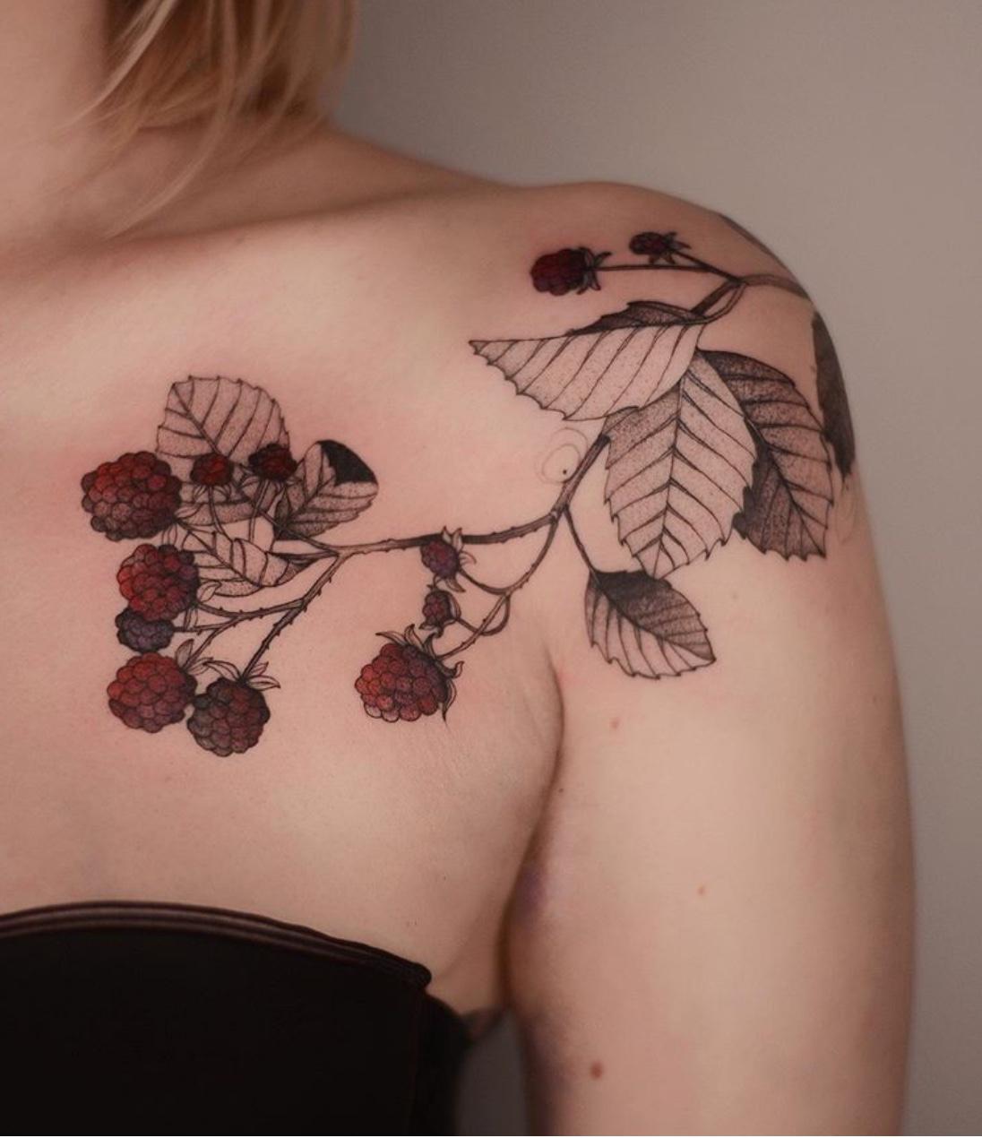 fruit tattoo