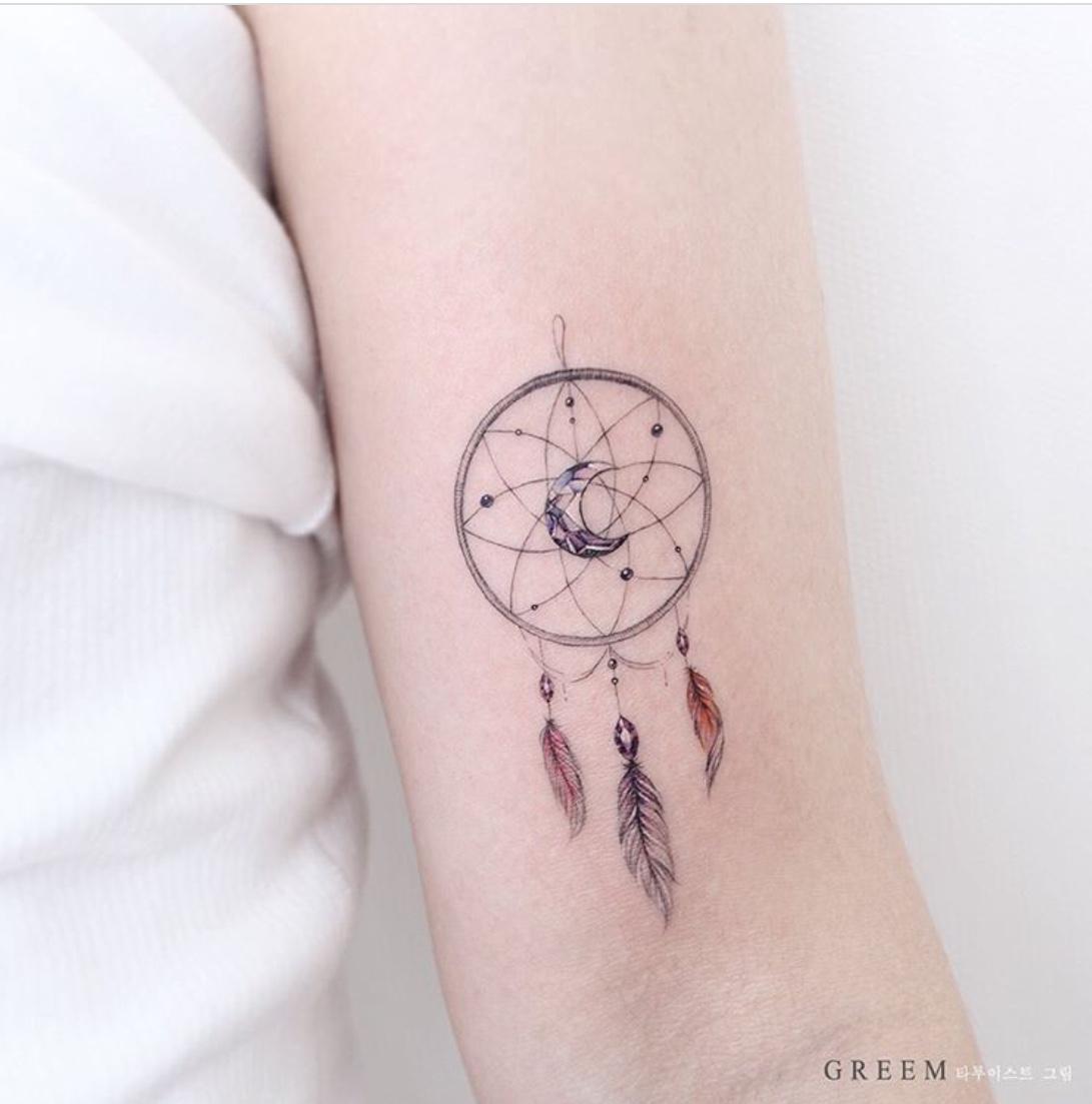 dreamcatcher tattoos