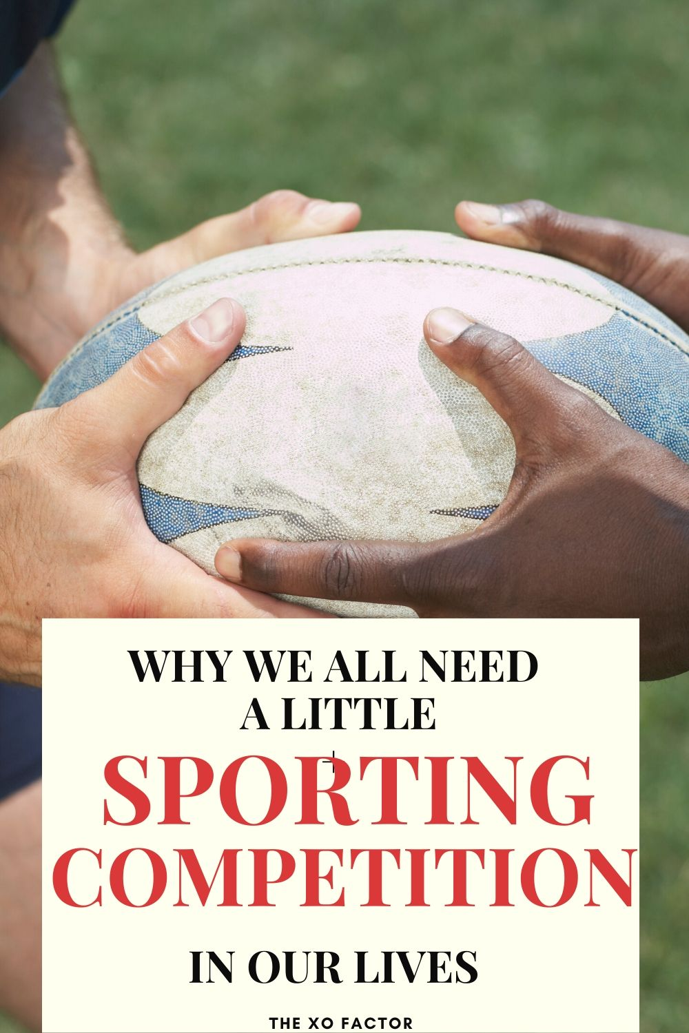 why we all need a little sporting competition
