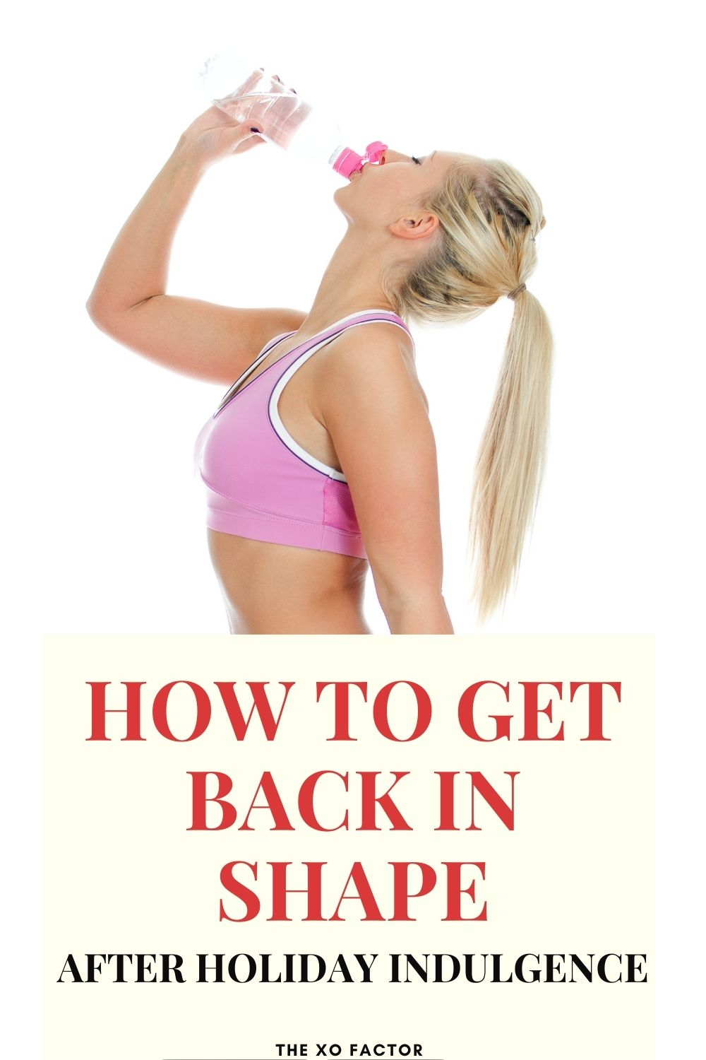 how to get back in shape after holiday indulgence