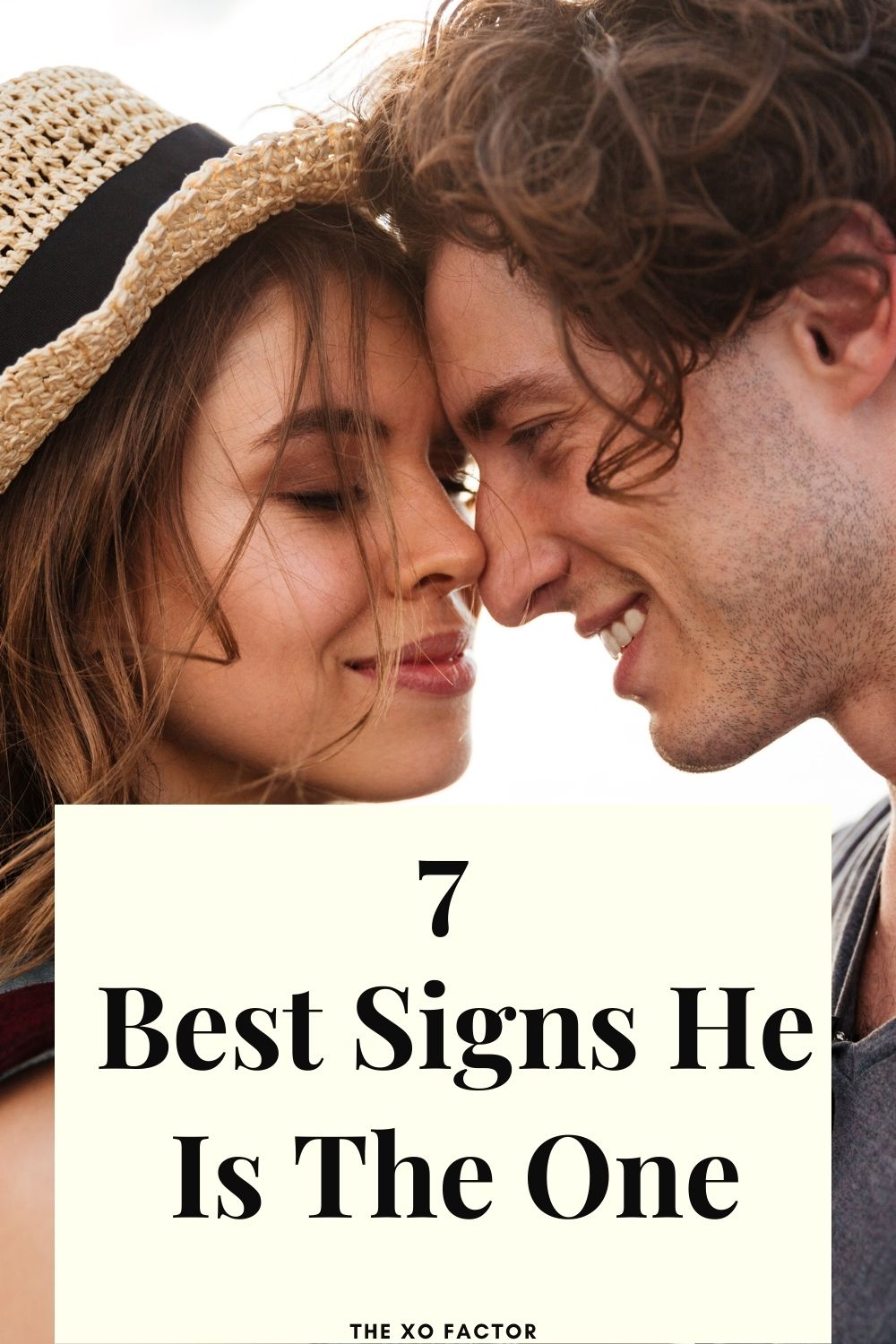 7 best signs he is the one