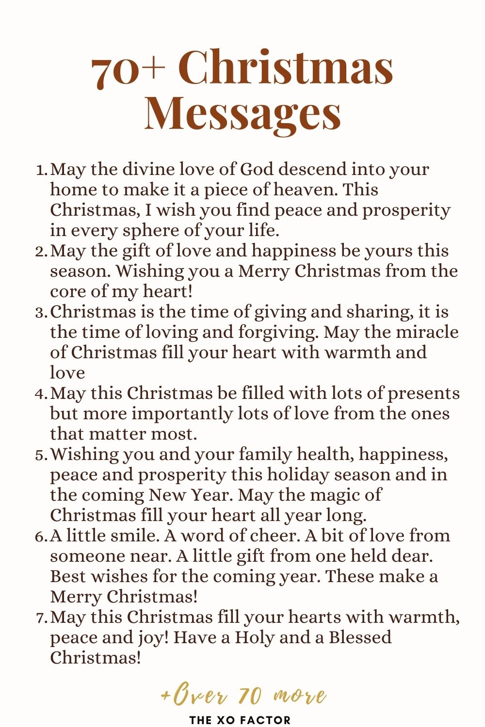 Beautiful Christmas messages