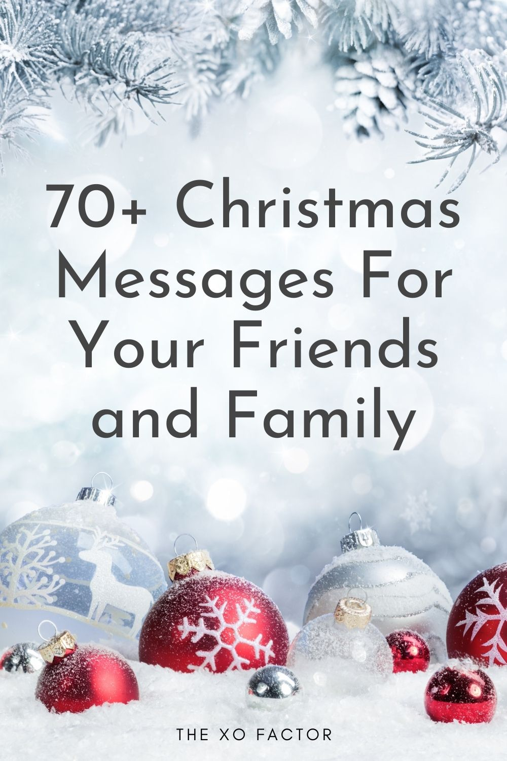 70+ Christmas messages for your friends and family
