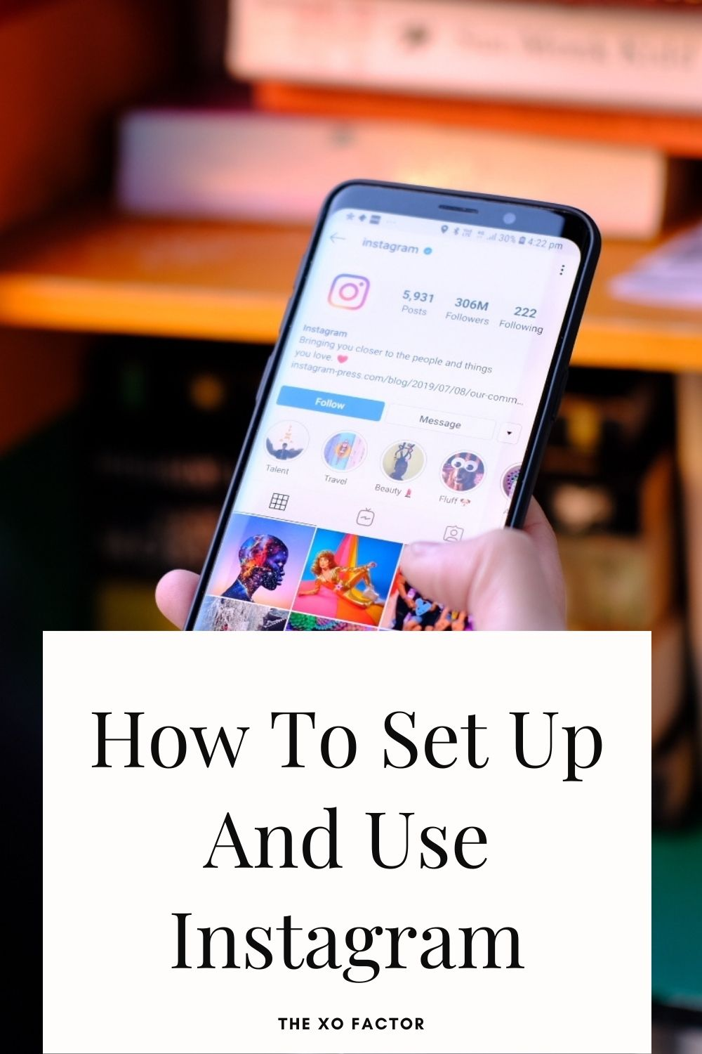 how to set up and use instagram