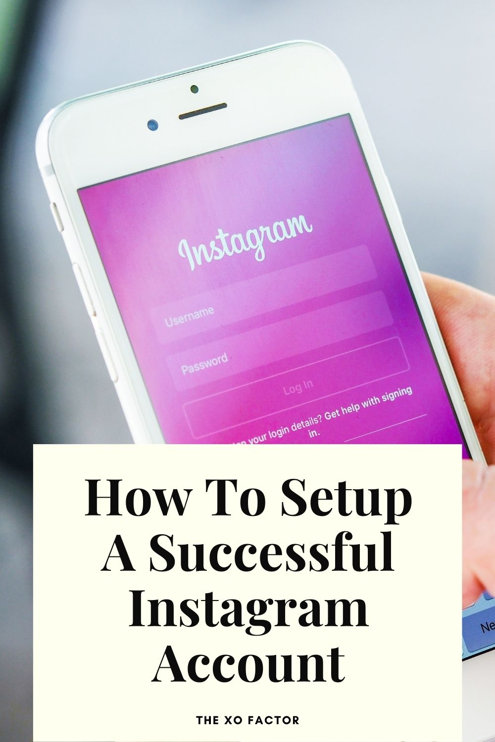 how to setup a successful instagram account