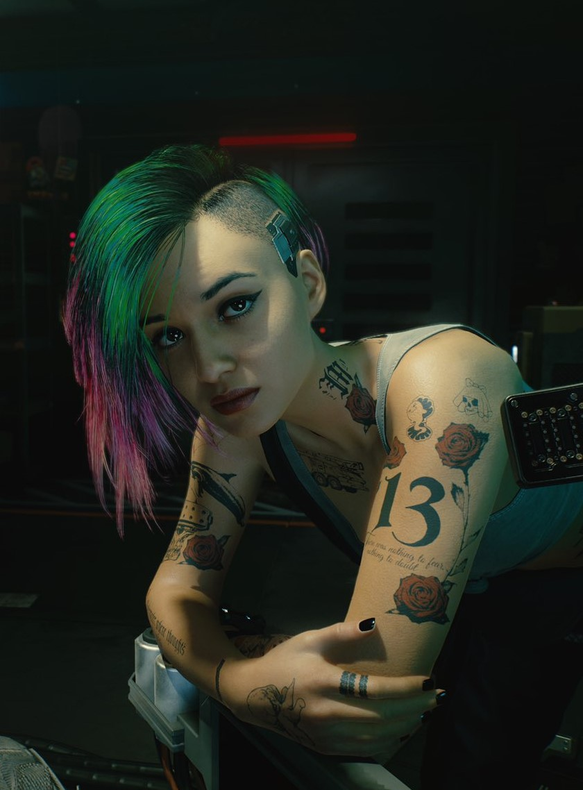 Judy alvarez cyberpunk 2077