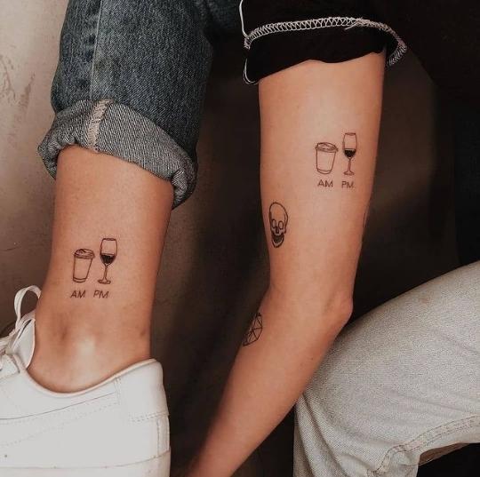 friends' tattoo ideas