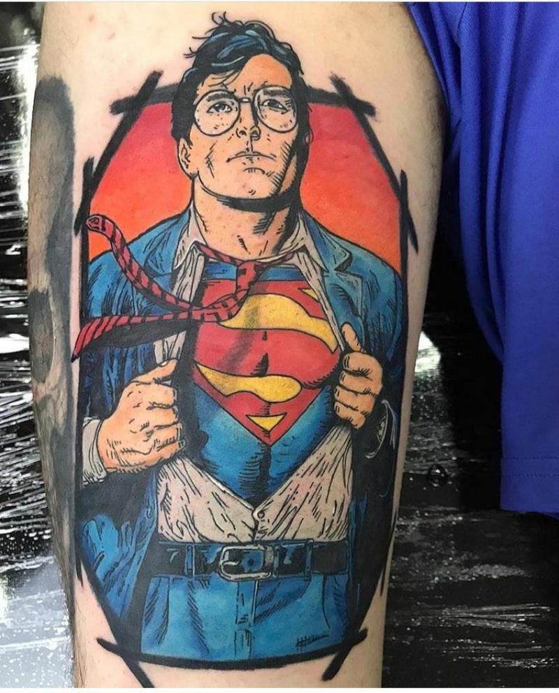 superman tattoo