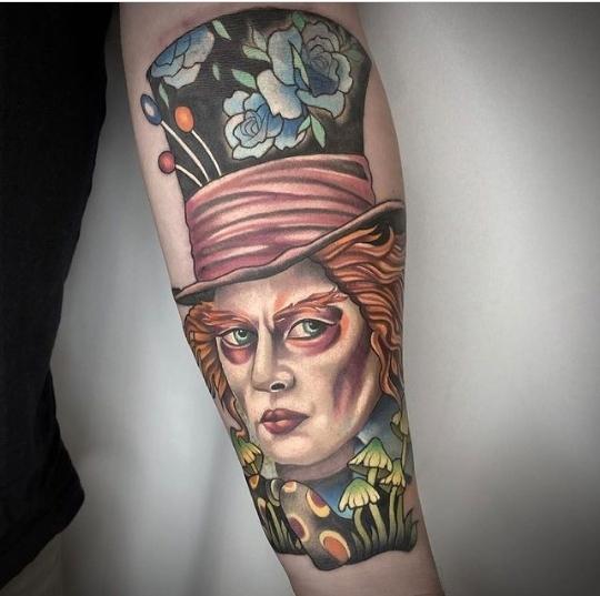 mad hatter tattoos